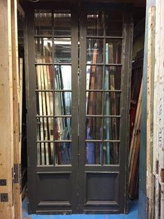 nr. set478 set hoge deuren met geslepen glas