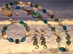 """IRINA DESIGNS - """"Ocean Breeze"""" Jewellery set"""