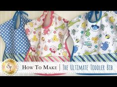 Create an Oh-So-Sweet bib for your toddler with the Ultimate Toddler Bib - Woodland Critters Kit! Toddler Bibs are reversible and come in two colors! Available at Shabby Fabrics. Sewing Patterns For Kids, Sewing Projects For Kids, Sewing For Kids, Baby Sewing, Sewing Ideas, Toddler Bibs, Baby Bibs, Bib Tutorial, Tutorial Sewing