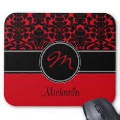 >>>Order          Monogram Red Black White Damask Mousepad           Monogram Red Black White Damask Mousepad In our offer link above you will seeHow to          Monogram Red Black White Damask Mousepad Review on the This website by click the button below...Cleck Hot Deals >>> http://www.zazzle.com/monogram_red_black_white_damask_mousepad-144108848654929260?rf=238627982471231924&zbar=1&tc=terrest