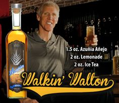 NBA Hall of Famer Bill Walton will be at Hi-Time on Saturday, June 29th from 4-7 p.m. signing bottles of Azunia Tequila!