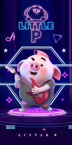 This Little Piggy, Little Pigs, Happy Birthday Pig, Pig Wallpaper, Cute Piglets, Pig Drawing, Pig Illustration, Pig Art, Disney Sketches