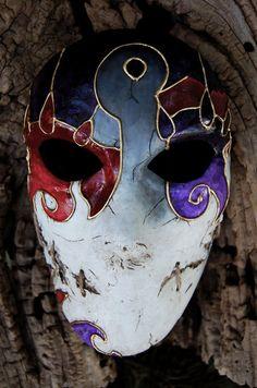 Hecho a pedido - de máscara de hojas