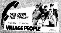 Lansure's Music Paraphernalia: VILLAGE PEOPLE   Press Kits   Memorabilia