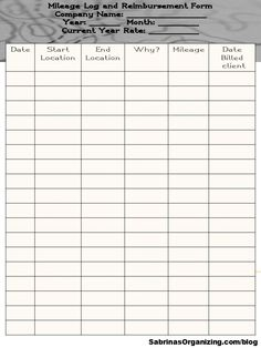 Mileage log template 28 mileage log pinterest logs template easy ways to track mileage for your small business wajeb Image collections