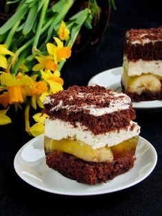 ciasto z bananami