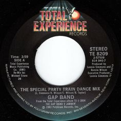 Gap Band* - Party Train (The Special Party Train Dance Mix) (Vinyl) at Discogs