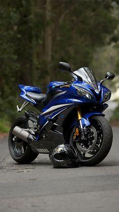Fondos de pantalla de motos azules