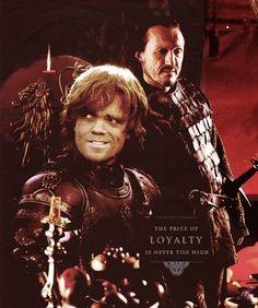 Bronn & Tyrion ~ Game of Thrones Fan Art