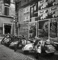 Rome, July, 1955, photo by Philip Harrington for LOOK magazine viagreeneyes55