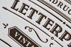 Letterpress und Bostonstyle