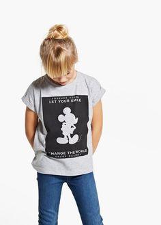 f7ed67c846 Disney modal-blend t-shirt | MANGO KIDS Farmernadrág, Legfrissebb  Divattrendek, Gyerekdivat