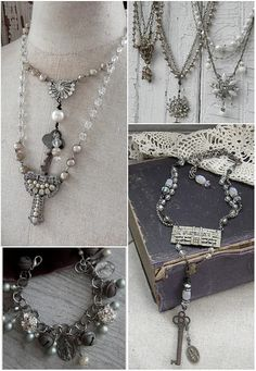 So beautiful...and all from repurposed objects.