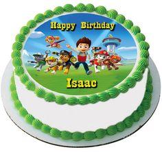 Paw Patrol 3 Edible Birthday Cake Topper