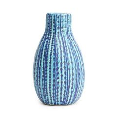 Watercolour Vase - This fantastic vase would add a splash of color to my living room! I love the blues! Home Decor Sites, Pot Of Gold, Dinner Sets, My Living Room, Shades Of Blue, Rainbow Colors, Color Splash, Perfect Place, Vases