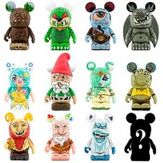 Disney Vinylmation Myths and Legends Series Figure - 3'' | Disney Store