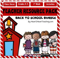 Everything you need for the first week of school and beyond is in this product! It's all here! Everything to set up your classroom with management, procedural, and organization forms, classroom posters, quotes, signs to make students instantly feel welcome and lastly 10 creative, hands-on, and meaningful student activities to start off the new school year on a positive note!