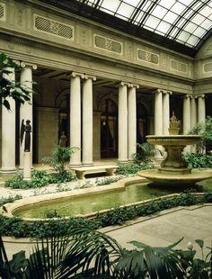 Garden Court, Frick Museum, New York, New York