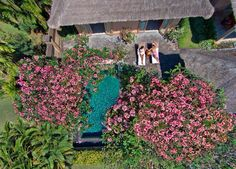 Love this aerial shot of me in Bali shooting for #ayanaresort with @jasonrowles #bali #indonesia #aerialphoto