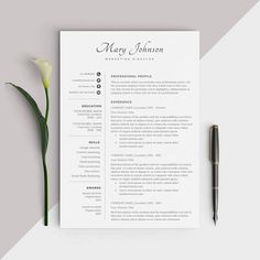 For a similar resume template with an image check out this listing --> https://www.etsy.com/listing/540574157/resume-template-with-image-photo-cv ★ See all of our designs at www.etsy.com/shop/Comelydesignstudio★ ▌LIMITED TIME OFFER: All resumes 40% off, $20 --> $12 ▌ ............................................................................................................................ WELCOME TO COMELY DESIGN STUDIO! Our professionally des...