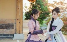 Moon Lovers - Scarlet Heart Ryeo new stills - Haesoo & Woohee cr: dramabobo Lee Jun Ki, South Korean Girls, Korean Girl Groups, Scarlet Heart Ryeo Cast, Jin, Hyun Seo, Korean Hanbok, Seohyun, Snsd