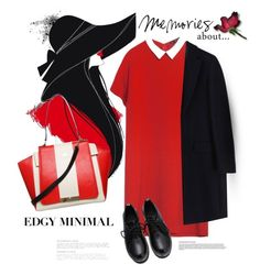"""""""Minimal"""" by nightowl59 ❤ liked on Polyvore featuring Zara, Milli Millu, MSGM, women's clothing, women, female, woman, misses and juniors"""