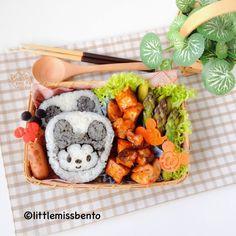 Mickey Mouse Sushi Art Roll kazarimakisushi Bento recipe