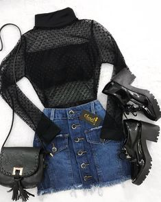 Suçlu ve Çekici - Read from the story Suçlu ve Çekici by hayaletbts with 808 reads. Source by brigittbauer juvenil femenina moda 2019 Teenage Outfits, Teen Fashion Outfits, Edgy Outfits, Cute Casual Outfits, Mode Outfits, Grunge Outfits, Outfits For Teens, Pretty Outfits, Fall Outfits