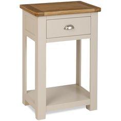 Charming Grasmere Light Oak Console/Telephone Table   Oak Furniture UK. See More.  Default_name