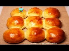 Homemade bread in 3 minutes AND with only 3 ingredients and the best is without FLOUR Pan Bread, Bread Baking, Newfoundland Recipes, Bread Dishes, Dinner Rolls Recipe, Cake Decorating Videos, Bread Rolls, Menu Restaurant, Bread Recipes