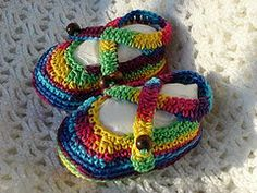 Manda Nicole's Crochet Patterns: 10 Free Patterns - Sandals