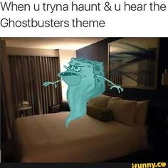 haunt, ghostbusters, theme