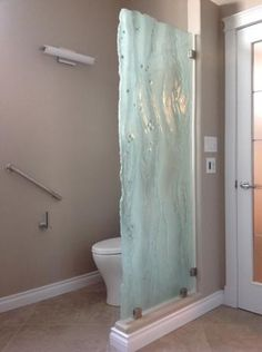 Shower Room Wave Glass Partition   Google Search