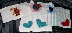 Tracy's toddler bib- easy to sew at Bev's Country Cottage