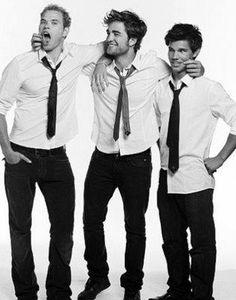 Emmett, Edward, & Jacob!