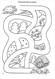 Használja a nyilakat, kapcsoló a lejátszott kép Preschool Activities At Home, Preschool Colors, Educational Games For Kids, Free Preschool, Preschool Worksheets, Infant Activities, Activity Sheets For Kids, Mazes For Kids, Labyrinth