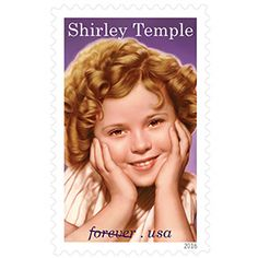 With this 20th stamp in the Legends of Hollywood series, the USPS® honors actress and diplomat Shirley Temple Black (1928-2014). The world's most famous film star as a child, she went on to a distinguished career in public service and international affairs.The stamp art is a painting by artist Tim O'Brien; it is based on a 1935 image from Curly Top, one of the child star's iconic movie roles. The selvage features a publicity photo from the 1933 short film Managed Money.