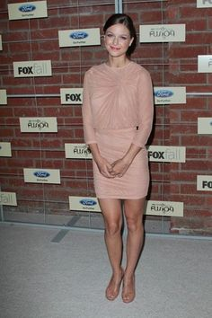 Photo of Fox Fall Eco-Casino Party 2012 for fans of Melissa Benoist 32161671 Katie Mcgrath, Melissa Benoist, Shades Of Beige, Supergirl, Star Fashion, American Actress, Sexy Dresses, Fox, High Neck Dress