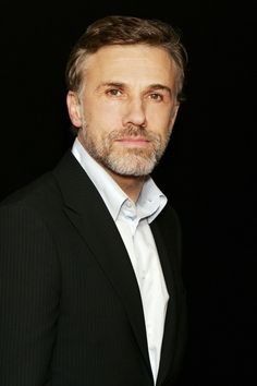 Christoph Waltz, such a good looking man! (ryan gosling is going to end up looking like him when he's older.)
