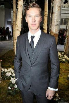 fa1ed4677 NY Hugo Boss Show♥Ben British Actors, British Men, Benedict Cumberbatch  Sherlock,