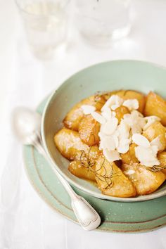 Baked Pears with Rosemary and Almonds