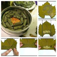 dolmas stuffed grape leaves rezept syrische rezepte pinterest gef llte weinbl tter. Black Bedroom Furniture Sets. Home Design Ideas