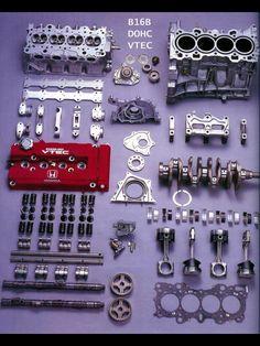 - Cars & Motorcycles that I love - - Fahrzeuge - Autos Honda Civic Coupe, Honda Civic Hatchback, Honda Crx, Vtec Engine, Car Engine, Tuning Motor, Motor Car, Mécanicien Automobile, Jdm Engines