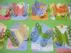 BUTTERFLY BUTTERFLIES Gift Tags & String Wrap by TheScrappyKat, $2.00