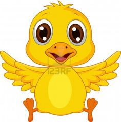 Cute baby duck cartoon vector image on VectorStock Farm Cartoon, Duck Cartoon, Cartoon Monkey, Cartoon Fish, Happy Cartoon, Clipart Baby, Cute Chickens, Baby Chickens, Cute Baby Dogs