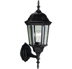 "View the Kichler 9654 Madison Collection 1 Light 23"" Outdoor Wall Light at LightingDirect.com."