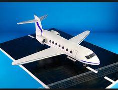 airplane cake on runway