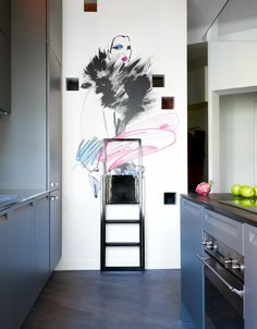 Einrichtungsiden Küche Wohnideen Trittleiter Einrichtungstipps