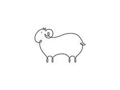 Line Sheep