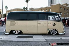 Lowered bus